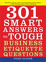 business etiquette book