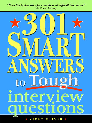 Book: 301 Smart Answers To Tough Interview Questions